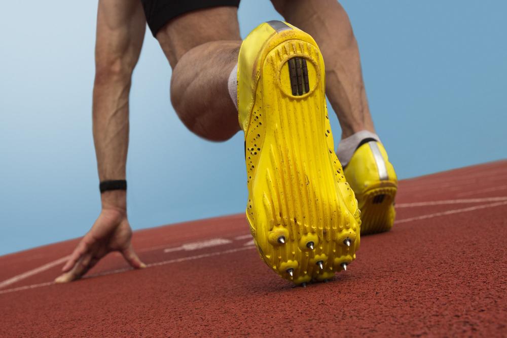usain bolt spike shoes