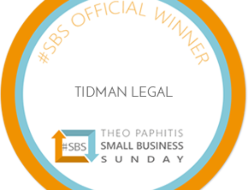 Tidman Legal Wins Theo Paphitis's Small Business Sunday Competition